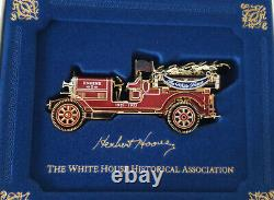1981 to 2019 Set of Official White House Christmas Ornaments Gold NEW in BOXES