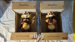 2019 Disney Parks Holiday Christmas Chip & Dale Nutcracker Chip And Dale Set