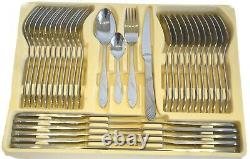 72 Pc Stainless Steel Silver Supreme Quality Cutlery Canteen set 18/10 Christmas
