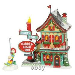 Department 56 North Pole Welcoming Christmas Set of 2 (FREE SHIPPING)