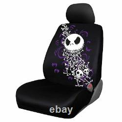 For Chevy 11pc Jack Skellington Nightmare Before Christmas Car Seat Cover Set