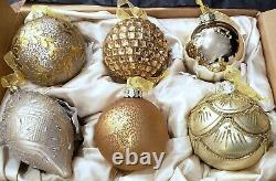 Frontgate Christmas Ornaments christmas Tree ornaments set of 6 NEW