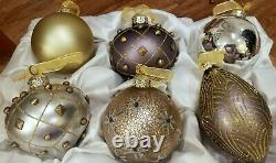 Frontgate Ornaments christmas ornaments boxed set of 6