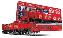 Hornby R1233 Coca-Cola Holidays Are Coming Christmas Train Set