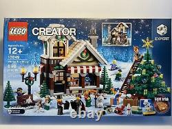 LEGO 10249 Winter Toy Shop Holiday Creator Christmas Holiday Sealed Vaulted NEW