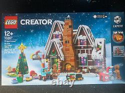 LEGO #10267 Gingerbread House Christmas Hard To Find BRAND NEW AU SELLER