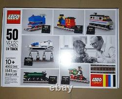 LEGO #4002016 KLADNO Christmas Gift 2016 50 Years On Track + CARD