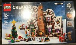 Lego 10267, Gingerbread House, Christmas New, Mib Factory Sealed