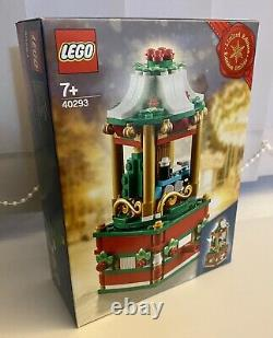 Lego 40293 Christmas Carousel Limited Edition Winter Set Brand New Sealed