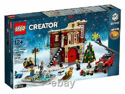 Lego Creator 10263 Winter Village Fire Station Factory Sealed / New