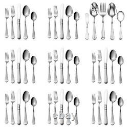 Mikasa French Countryside 18/10 Stainless 45pc. Flatware Set (Service for Eight)