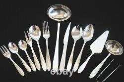 New Heavy 72 Pc Silver Cutlery Set 18/10 Stainless Steel Table Canteen Gift Xmas