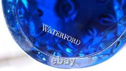New Waterford Crystal Lismore Christmas Trees Topaz Set Of 3 In Original Box