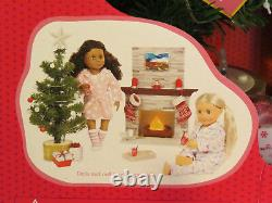 Our Generation Holiday Celebration Set Christmas Tree Fireplace 18 Girl Doll AG